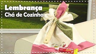 LEMBRANÇA PARA CHÁ DE COZINHA com Vera Brugin