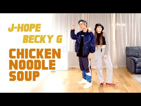 BTS j-hope – 'Chicken Noodle Soup (feat. Becky G)' Dance Cover | Ellen and Brian