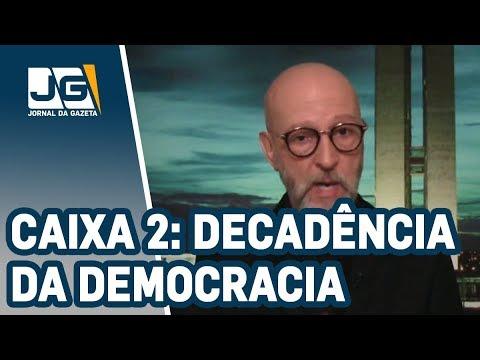 Josias de Souza/Caixa 2 acentua decadência da democracia