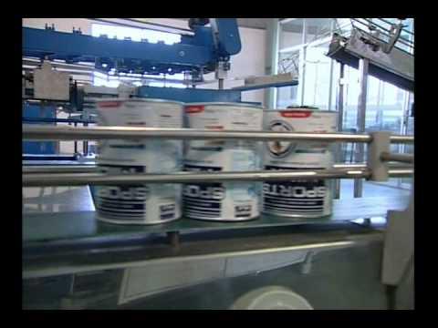 Dây chuyền sản xuất Sữa bột của Cty Hancofood.