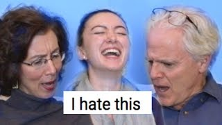 My parents react to my YouTube comments