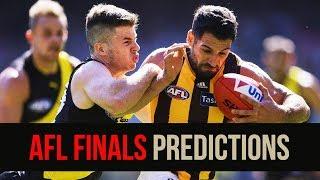 AFL Finals 2018 | PREDICTIONS