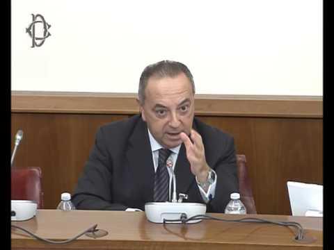 Roma - Protezione testimoni di giustizia, audizioni (25.10.16)
