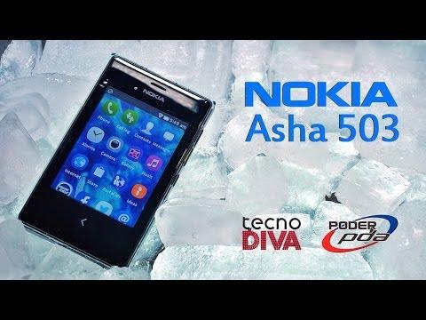 Nokia Asha 503 - Analisis en Español HD