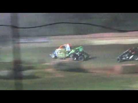Linda's Speedway 600cc wreck 8/19/2016