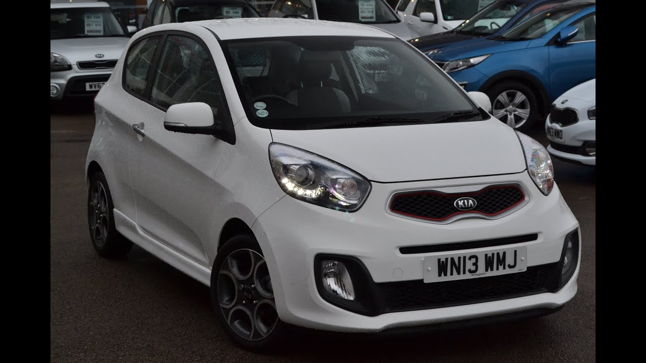 wessex garages used kia picanto white eco on feeder road. Black Bedroom Furniture Sets. Home Design Ideas