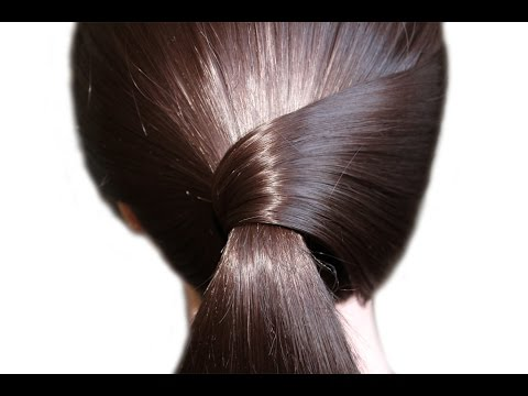 Simple and very beautiful hairstyle on every day for medium hair