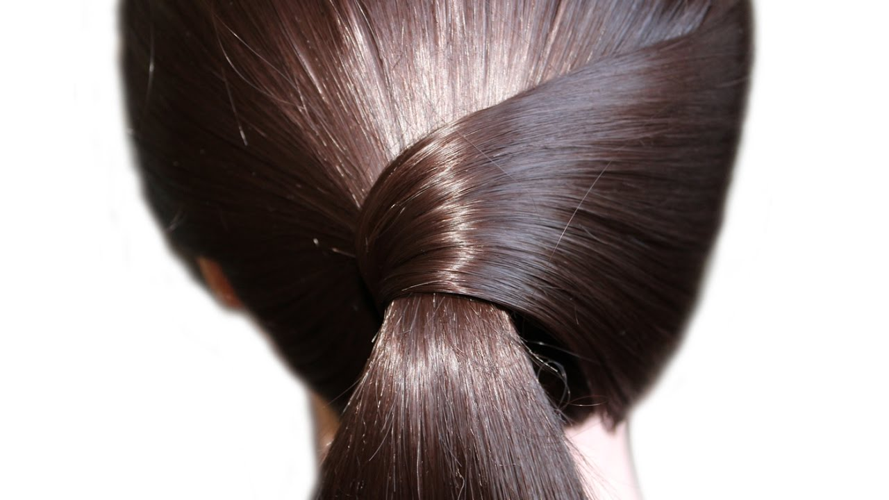 simple and beautiful hairstyle