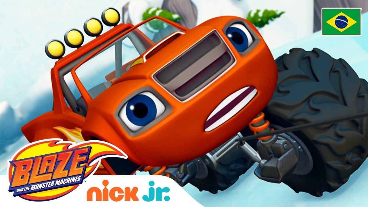 Resfriado com espirros ❄️  | Blaze and the Monster Machines