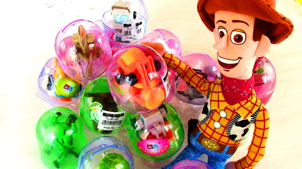 Toy Capsule Toys Surprise Toys Wind Up Toys With Woody Of Toy Story 3 Capsule Toys Like Surprise Eggs