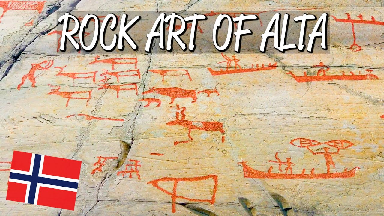 Rock art of alta unesco world heritage site youtube