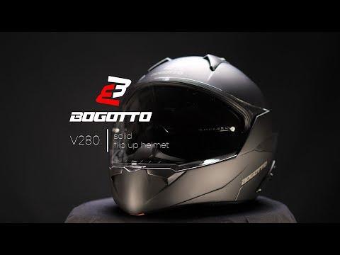 Bogotto V537 Solid Jet Helmet Casco Marrone