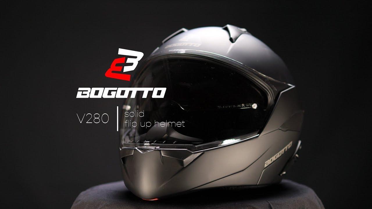 Bogotto V280 Klapphelm Silber XL