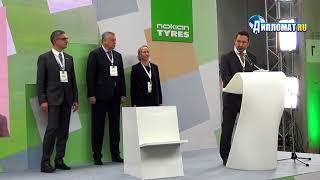 Всеволожский завод Nokian Tyres выпустил юбилейную 100-миллионную автомобильную шину