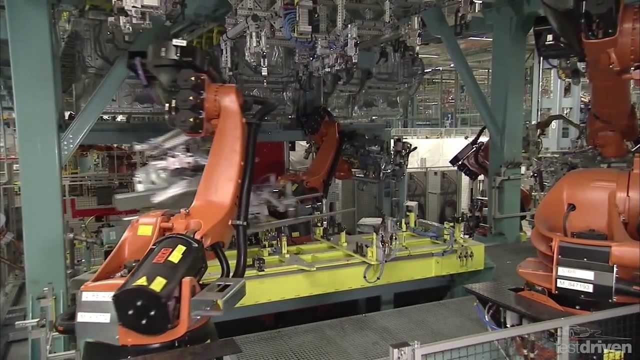 видео на заводе мерседес
