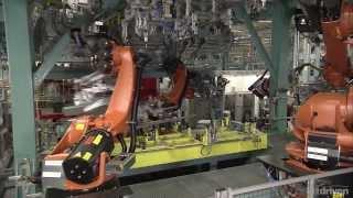 Сборка A Class 2013 на заводе Mercedes в Раштатт, Германии  2013(Завод Раштатт это центр сборки компактных автомобилей у Мерседеса. Сборочные линии завода уже выпустили..., 2014-02-09T13:17:01.000Z)