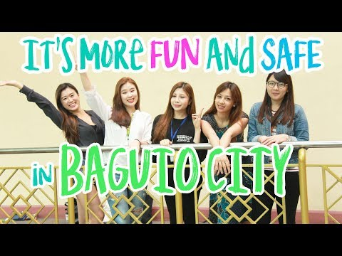 [Study English in the Philippines] FIVE Reasons to Choose BAGUIO~