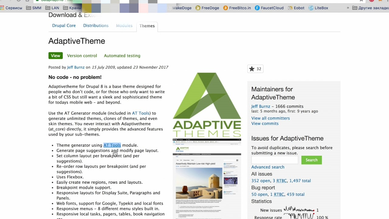drupal commons themes free