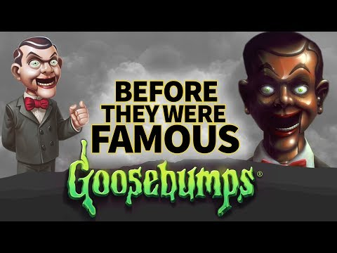GOOSEBUMPS | Before They Were Famous | R.L. Stine