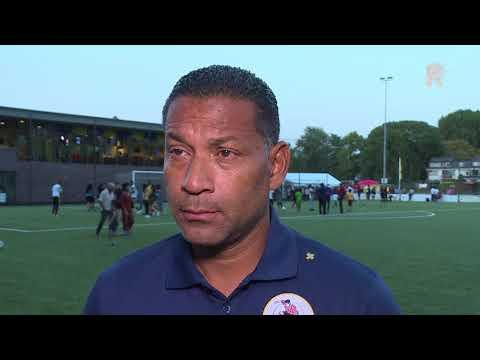 Henk Fraser over Sparta-Suriname: 'Voor de toeschouwers een leuke wedstrijd'