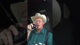 Celadon Driver Sings National Anthem