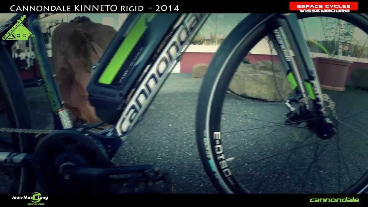a593cae710b Cannondale KINNETO RIGID - 2014 - YouTube