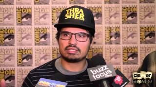 Michael Peña & Director David Ayer 'End Of Watch' Comic-Con Interview
