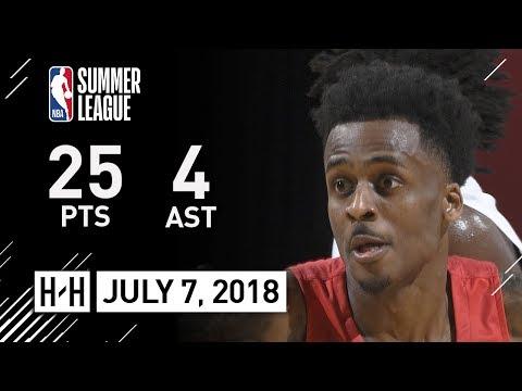 Antonio Blakeney Full Highlights vs Cavaliers (2018.07.07) NBA Summer League - 25 Pts, 4 Reb, 4 Ast