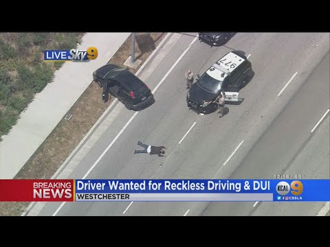 Reckless Driving, DUI Suspect Taken Into Custody After PIT Maneuver Ends Pursuit