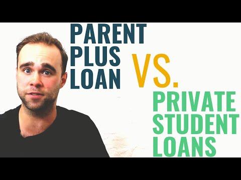 Parent PLUS Loan vs Private Student Loans