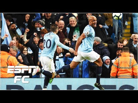 Reaction to Vincent Kompany's incredible goal: Manchester City on brink of title | Premier League
