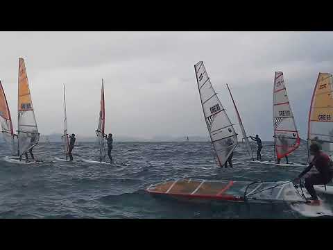 Eurolymp 2018 first race Techno 293