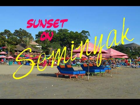 pantai-seminyak-bali-||-beautifull-sunset-on-seminyak-beach-||
