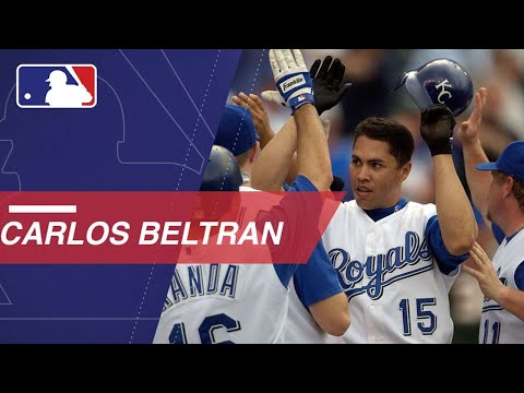 Carlos Beltran S Family Represented Each Of His 8 Teams For