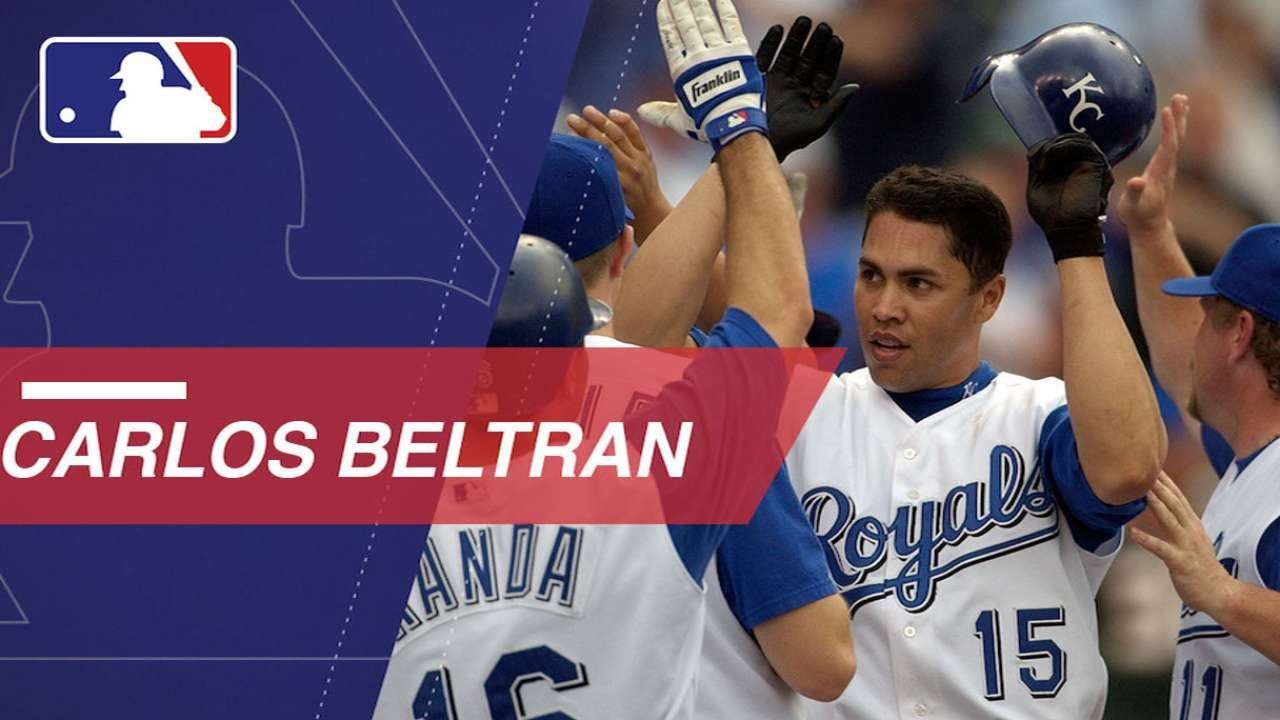 Carlos Beltran S Family Represented Each Of His 8 Teams For