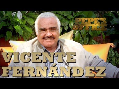 VICENTE FERNÁNDEZ en EXCLUSIVA para Pepe's Office:  --- ('ora sí čülėros póngame un Oxxo)