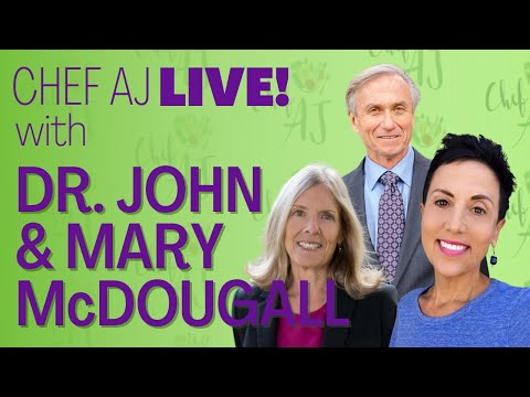 Eat Your Carbs But Lose Weight | Chef AJ is a McDougall Success Story | Dr. John & Mary McDougall