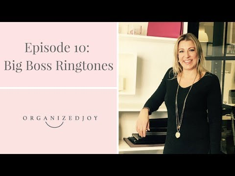 Episode 10 | Big Boss Ringtones | Organized Joy