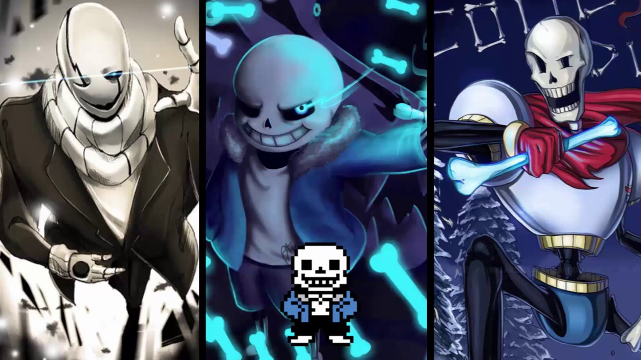 Stronger Than You - Sans, Papyrus & Gaster