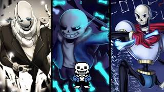 Stronger Than You - Sans Papyrus  Gaster