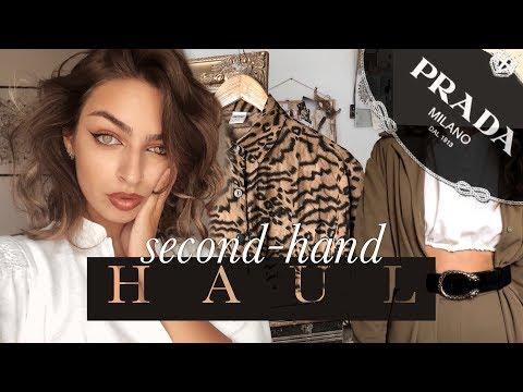 HAUL: Haine și accesorii de la SECOND-HAND & VINTAGE SHOPS | Maria Dius