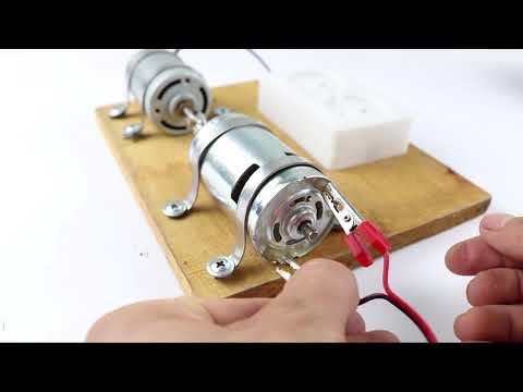 Cómo hacer un generador 220v con Moto 775 DC