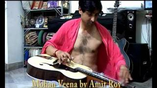 AMIT PLAYING MOHANVEENA - RAAG DESH - 15TH AUGUST - TRIBUTE TO NATION