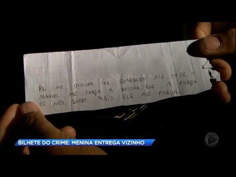 Menina de 9 anos escreve bilhete e entrega abusos do vizinho. Vídeo