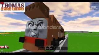 Roblox Thomas & Friends: a cena da perseguição (FANMADE)