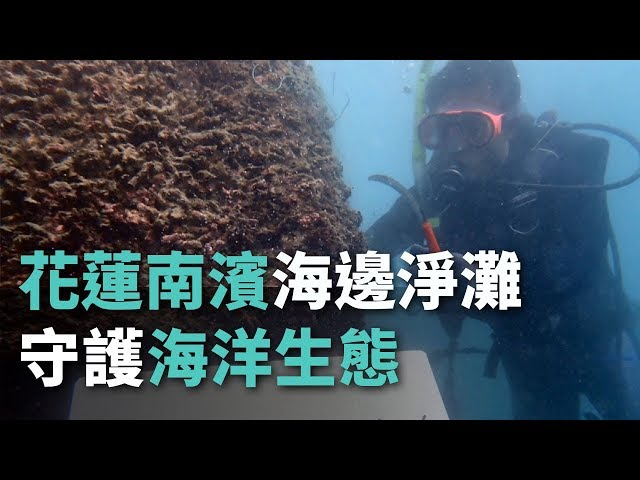 花蓮南濱海邊淨灘 守護海洋生態【央廣新聞】