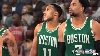NBA 2K16 - Boston Celtics vs Philadelphia 76ers Gameplay (PC HD) [1080p60FPS]