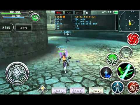 Avabel Online PvP: Geo Dancer Vs. Samurai #3