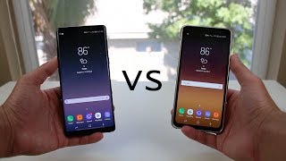 Galaxy Note 8 vs Galaxy S8 (Active) Speed Test!