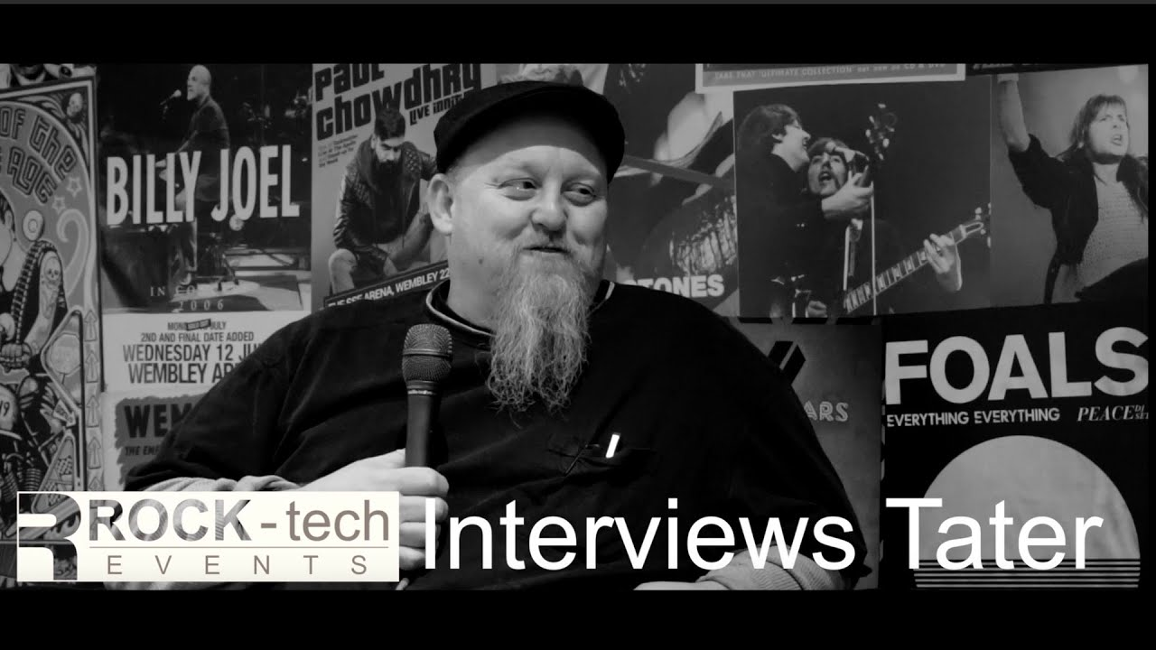 Rock-tech Events Interviews: Kevin 'Tater' McCarthy